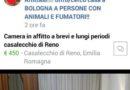 """""""Truffaffitti"""", un gruppo Facebook per segnalare truffe a Bologna"""