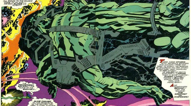 In Mostra I Disegni Di Jack Kirby Padre Di Hulk E Iron Man