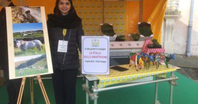 Coldiretti Emilia Romagna giovani alla fiera sull'innovazione contadin