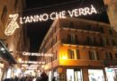 luminarie Lucio dalla in via D'Azeglio a Bologna