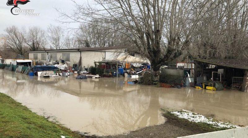 Calderara di Reno maltempo nel bolognese confagricoltura stima i danni