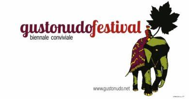 Gusto nudo festival elefante verde disegnato dal fumettista Andrea Bruno