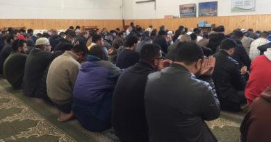 La preghiera in moschea