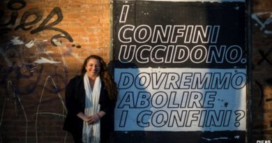 Tania Bruguera oggi a Bologna presenta due progetti pro migranti