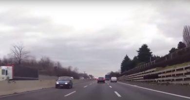 macchina contromano in autostrada A14 alle porte di Bologna