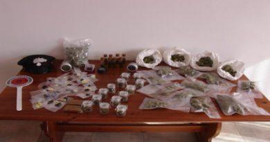 ottanta piante di marijuana in casa di 3 uomini a Castel d'Aiano