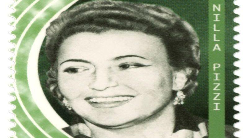 francobollo dedicato a Nilla Pizzi