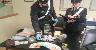 Marijuana in casa, arrestati madre e figlio a Imola