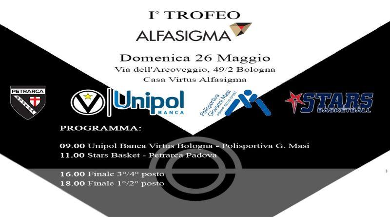 Si inaugura il campetto playground della Virtus con il torneo Alfasigma
