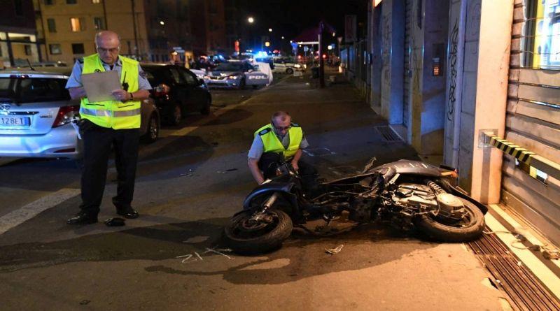 muore rider investito dalla polizia in un incidente