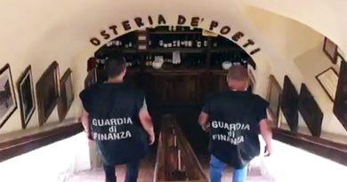 Sequestrata l'Osteria de' Poeti e indagati i soci per bancarotta