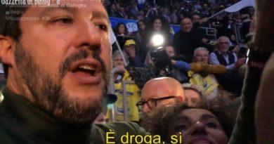 """Salvini: «La canapa """"light"""" è droga», ma il suo stesso ex ministero lo smentisce"""